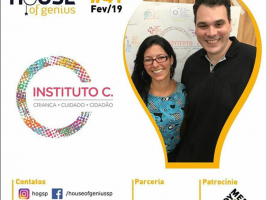Instituto C participa do House of Genius São Paulo